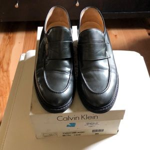 Calvin Klein loafers. Made in Italy.